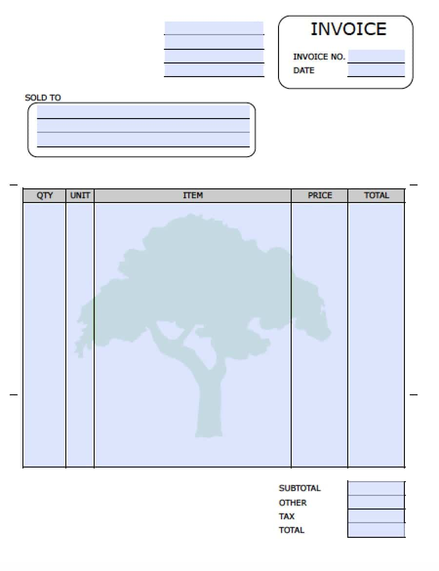 Shopdesignsus  Prepossessing Template For Invoice For Services Free Landscaping Lawn Care  With Goodlooking Free Landscaping Lawn Care Service Invoice Template  Excel   Template With Amazing Online Invoicing System Also Create An Invoice In Excel In Addition Vat Invoice Definition And Free Invoice Forms To Print As Well As Water Damage Invoice Sample Additionally Web Hosting Invoice From Sklepco With Shopdesignsus  Goodlooking Template For Invoice For Services Free Landscaping Lawn Care  With Amazing Free Landscaping Lawn Care Service Invoice Template  Excel   Template And Prepossessing Online Invoicing System Also Create An Invoice In Excel In Addition Vat Invoice Definition From Sklepco