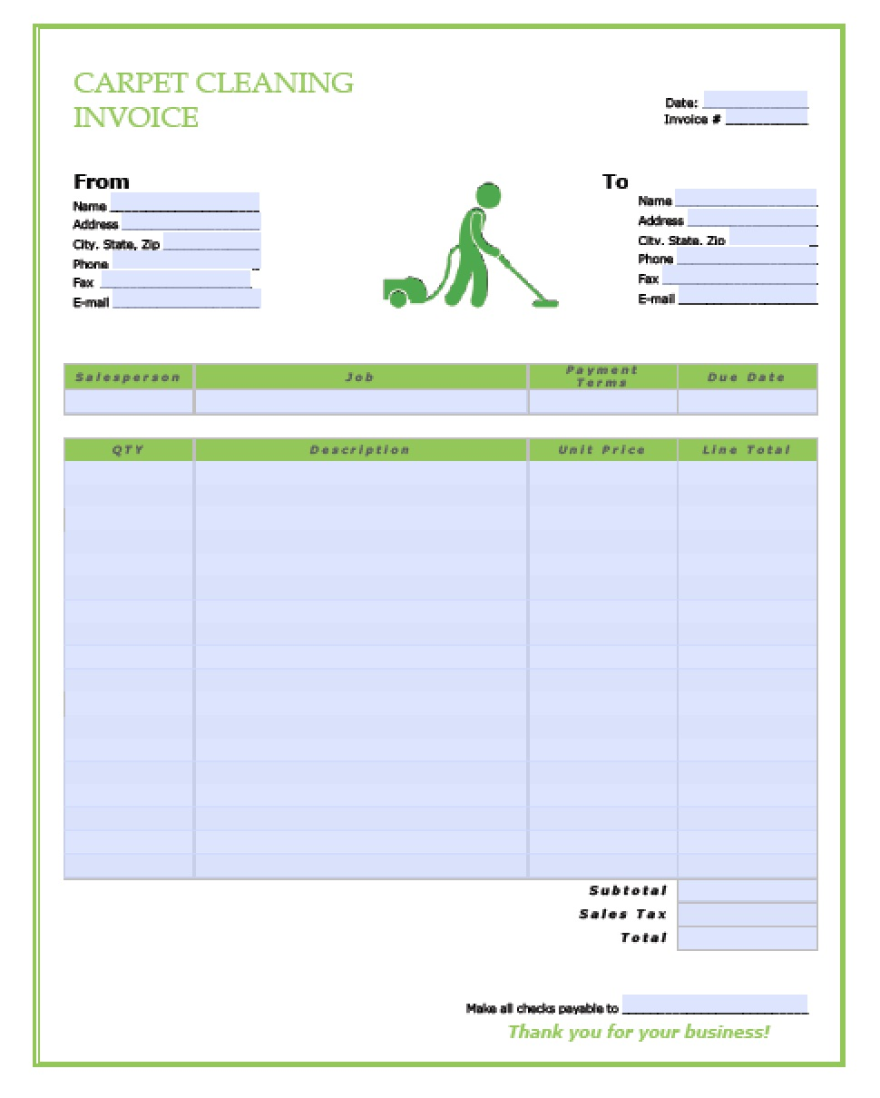 carpet cleaning service invoice template excel pdf word carpet cleaning service invoice template excel pdf word doc