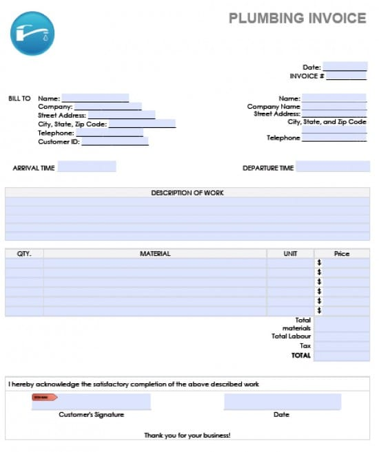Word Invoice. Preview Invoice Template As Picture Free Invoice
