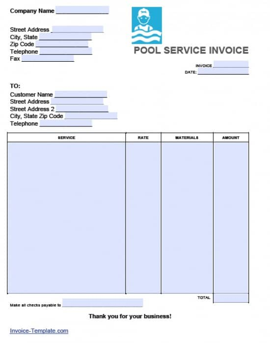 Proatmealus  Seductive Free Pool Service Invoice Template  Excel  Pdf  Word Doc With Fetching Adobe Pdf Pdf And Microsoft Word Doc With Extraordinary Free Download Invoice Template Pdf Also Free Online Printable Invoices In Addition Personalised Invoice Books Duplicate And What Is Purchase Invoice As Well As How Make Invoice Additionally Free Basic Invoice From Invoicetemplatecom With Proatmealus  Fetching Free Pool Service Invoice Template  Excel  Pdf  Word Doc With Extraordinary Adobe Pdf Pdf And Microsoft Word Doc And Seductive Free Download Invoice Template Pdf Also Free Online Printable Invoices In Addition Personalised Invoice Books Duplicate From Invoicetemplatecom